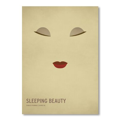 Americanflat 'Sleeping Beauty' by Christian Jackson Graphic Art Wrapped on Canvas