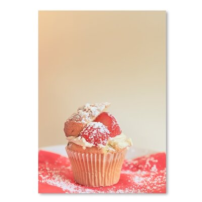 Americanflat Cup Cake Photographic Print on Wrapped Canvas