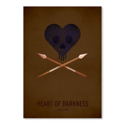 Americanflat Heart of Darkness Graphic Art on Wrapped Canvas