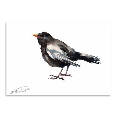 Americanflat 'Blackbird' by Suren Nersisyan Art Print Wrapped on Canvas