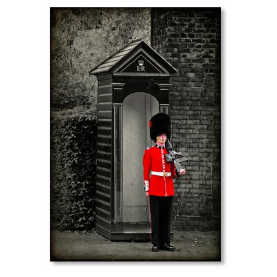 Americanflat 'Guard' by Lina Kremsdorf Photographic Print on Wrapped Canvas