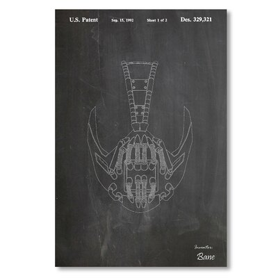 Americanflat 'Bane II' by House of Borders Graphic Art Wrapped on Canvas