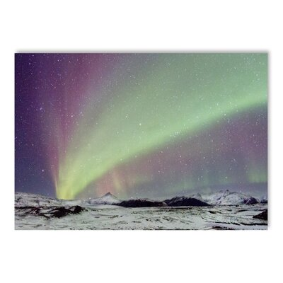 Americanflat Northern Lights Graphic Art on Wrapped Canvas