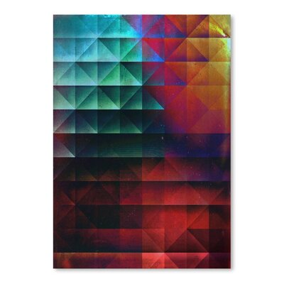 Americanflat Th'bryyk Graphic Art on Wrapped Canvas