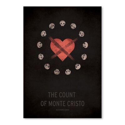 Americanflat The Count of Monte Cristo Graphic Art on Wrapped Canvas