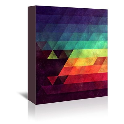 Americanflat Lina Graphic Art on Wrapped Canvas