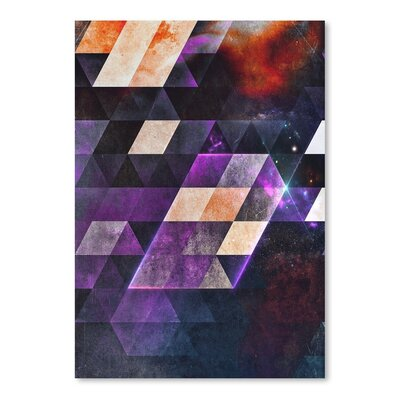 Americanflat Th'plyn Graphic Art on Wrapped Canvas