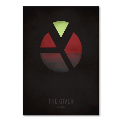 Americanflat The Giver Minimal Graphic Art Wrapped on Canvas