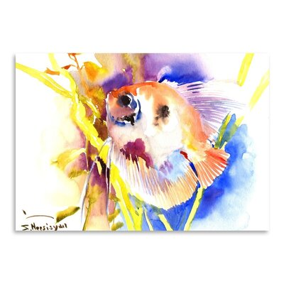 Americanflat 'Angelfish 2' by Suren Nersisyan Art Print Wrapped on Canvas