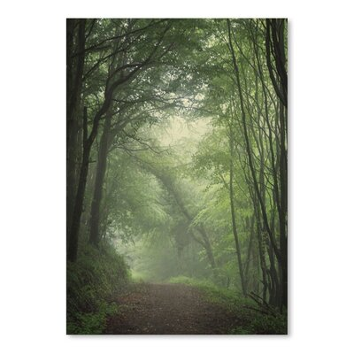 Americanflat Green Forest 2 Photographic Print on Wrapped Canvas