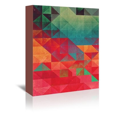 Americanflat Pryce Graphic Art on Wrapped Canvas