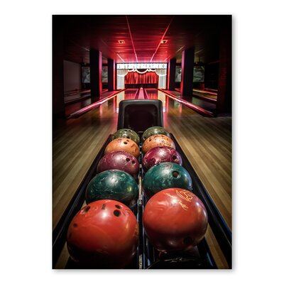 Americanflat 'Balling' by Lina Kremsdorf Photographic Print on Wrapped Canvas