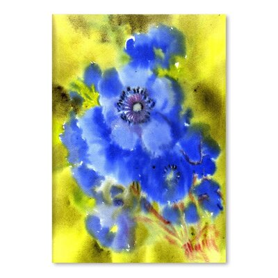 Americanflat 'Anemones' by Suren Nersisyan Painting Print on Wrapped Canvas