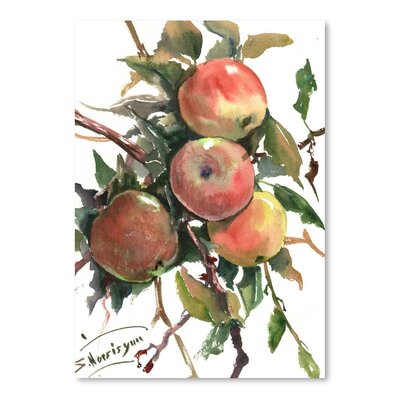 Americanflat 'Apples 2' by Suren Nersisyan Painting Print on Wrapped Canvas