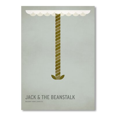 Americanflat 'Jack and the Beanstalk' by Christian Jackson Graphic Art Wrapped on Canvas