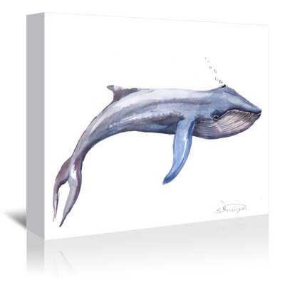 Americanflat 'Namu Whale' by Suren Nersisyan Art Print Wrapped on Canvas