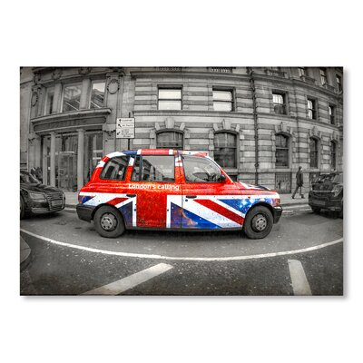 Americanflat London's Calling Photographic Print on Wrapped Canvas