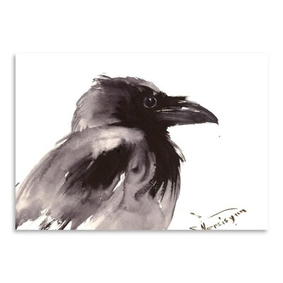 Americanflat 'Raven 2' by Suren Nersisyan Painting Print on Wrapped Canvas