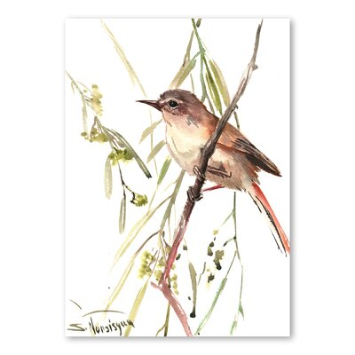 Americanflat 'Warbler' by Suren Nersisyan Painting Print on Wrapped Canvas