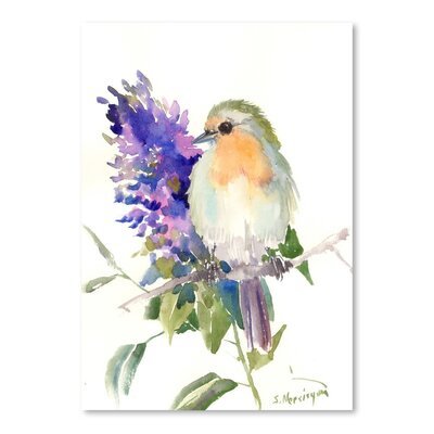 Americanflat 'Robin' by Suren Nersisyan Art Print Wrapped on Canvas