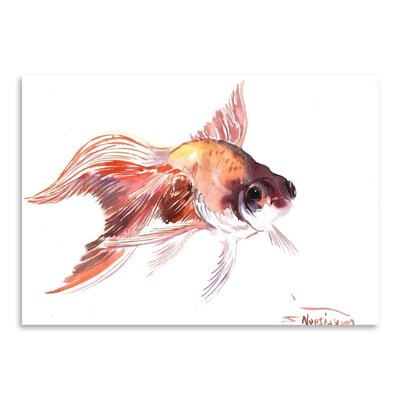 Americanflat 'Goldfish' by Suren Nersisyan Painting Print on Wrapped Canvas