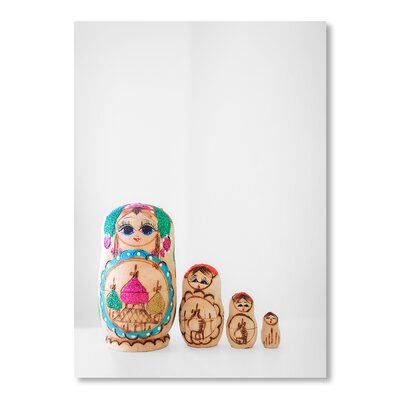 Americanflat Dolls Photographic Print on Wrapped Canvas