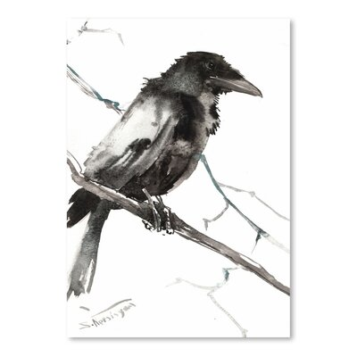Americanflat 'Raven 5' by Suren Nersisyan Painting Print on Wrapped Canvas
