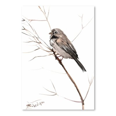 Americanflat 'Field Sparrow' by Suren Nersisyan Painting Print on Wrapped Canvas