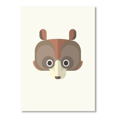 Americanflat 'Bear' by Christian Jackson Graphic Art on Wrapped Canvas