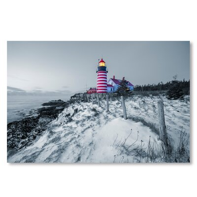 Americanflat 'Light House' by Lina Kremsdorf Photographic Print on Wrapped Canvas