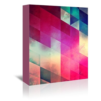 Americanflat July Graphic Art Wrapped on Canvas