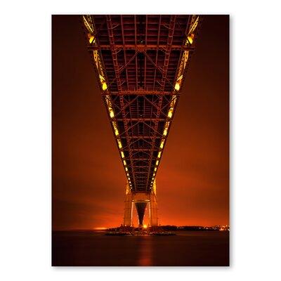 Americanflat 'Bridge' by Lina Kremsdorf Photographic Print on Wrapped Canvas
