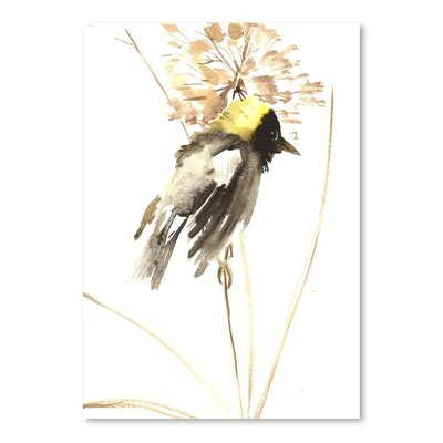 Americanflat Bird Painting Print on Wrapped Canvas