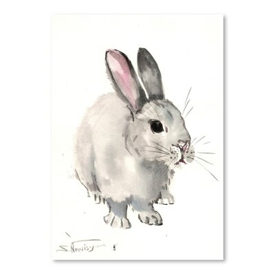 Americanflat 'Bunny 3' by Suren Nersisyan Painting Print on Wrapped Canvas