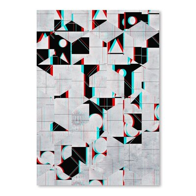 Americanflat Fylss Ynyglyph Graphic Art Wrapped on Canvas