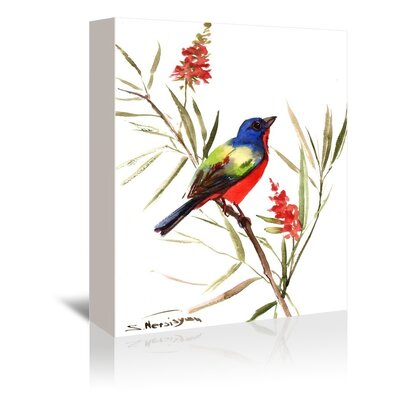 Americanflat 'Bright Bird' by Suren Nersisyan Painting Print on Wrapped Canvas