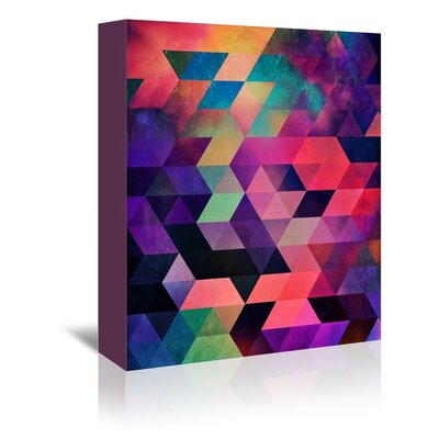 Americanflat Zyilla Graphic Art Wrapped on Canvas