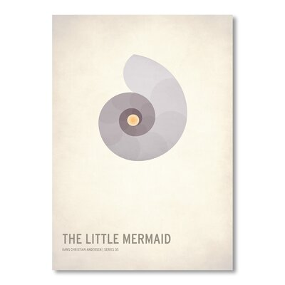 Americanflat 'The Little Mermaid' by Christian Jackson Graphic Art on Wrapped Canvas