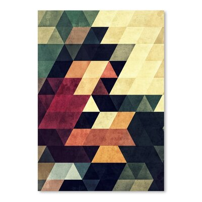Americanflat Yncyrtyynty Graphic Art on Wrapped Canvas