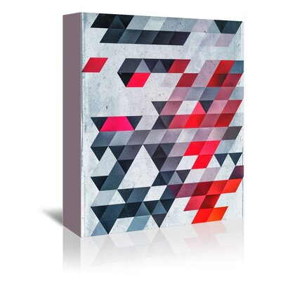 Americanflat Almunge Graphic Art Wrapped on Canvas