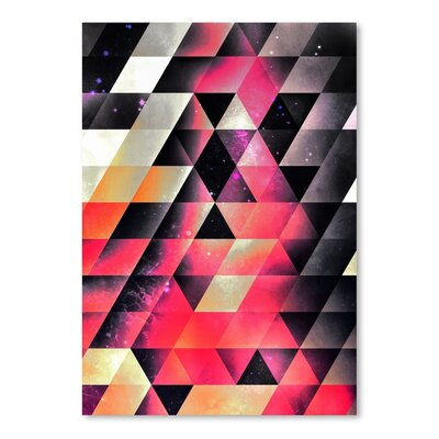 Americanflat Fyrlyrne Fyyrth Graphic Art Wrapped on Canvas