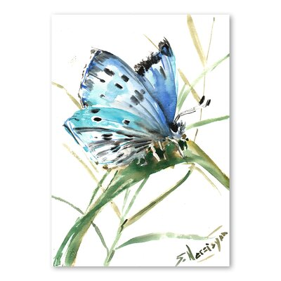 Americanflat 'Butterfly II' by Suren Nersisyan Painting Print on Wrapped Canvas