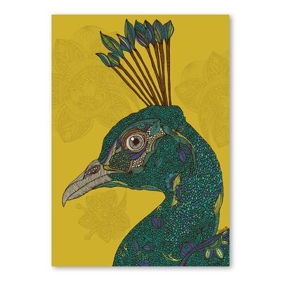 Americanflat Alexis Peacock Graphic Art on Wrapped Canvas