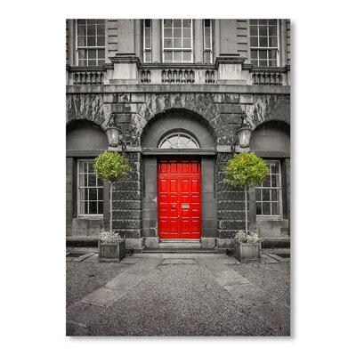 Americanflat Door Photographic Print on Wrapped Canvas
