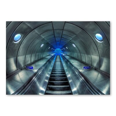 Americanflat 'Subway' by Lina Kremsdorf Photographic Print on Wrapped Canvas