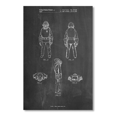 Americanflat 'Admiral Ackbar' by House of Borders Graphic Art on Wrapped Canvas