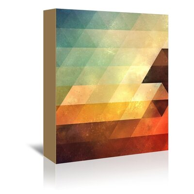 Americanflat Lyeaf Graphic Art Wrapped on Canvas
