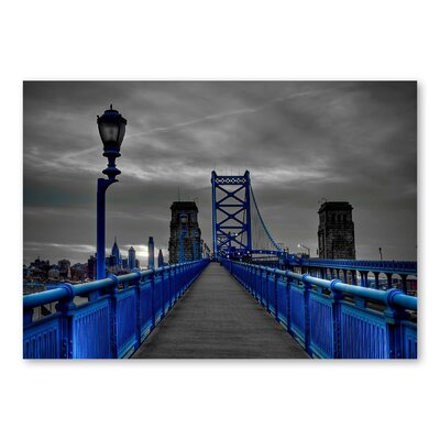 Americanflat 'Bridge' by Lina Kremsdorf Photographic Print on Wrapped Canvas