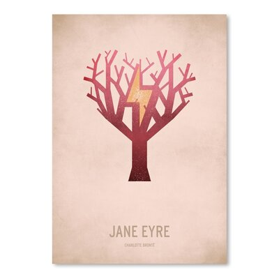 Americanflat Jane Eyre Graphic Art on Wrapped Canvas