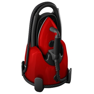 Lift Plus Garment Steamer Color: Red